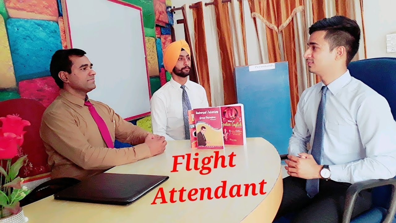 Cabin Crew Interview Questions and Answers for Men : Job Interview Flight  Steward Position