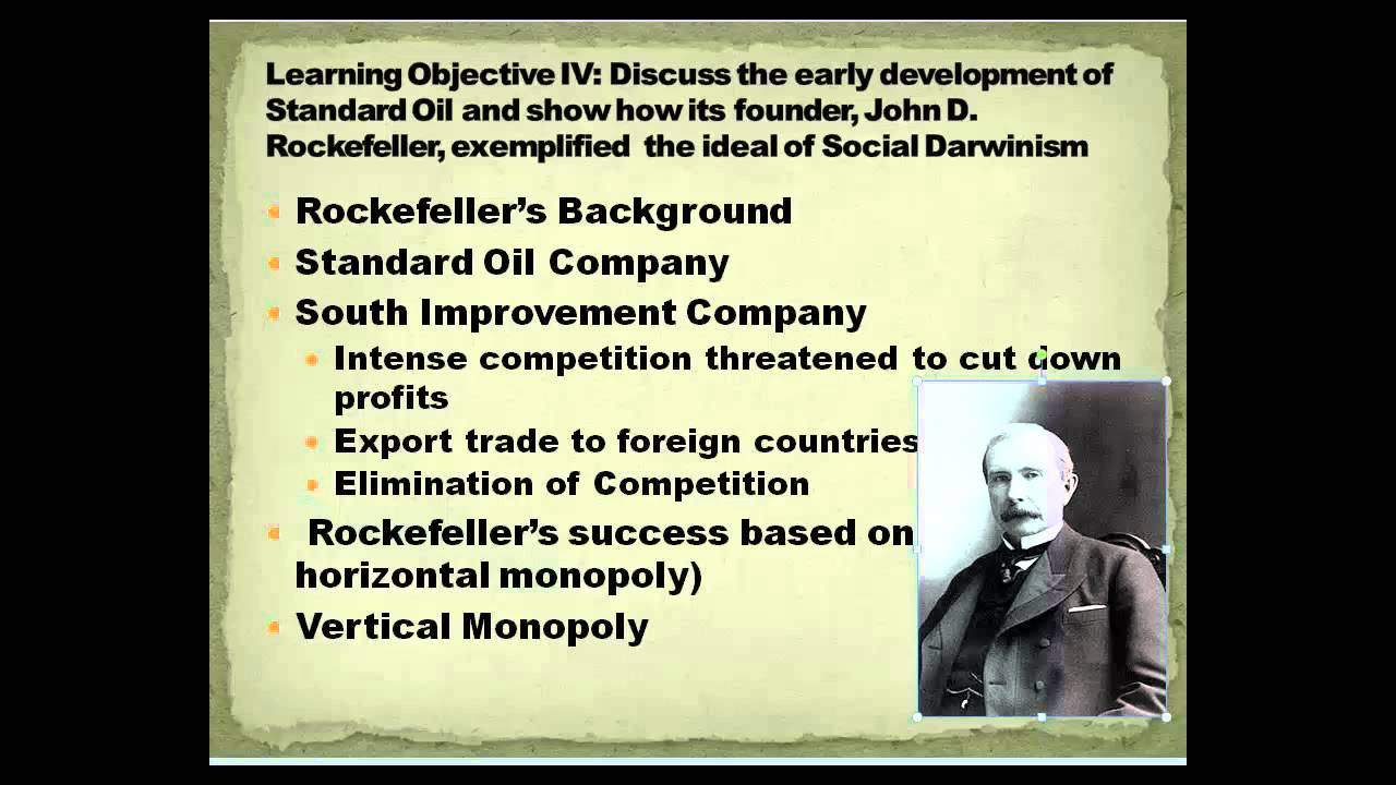 united states history at south texas college social darwinism