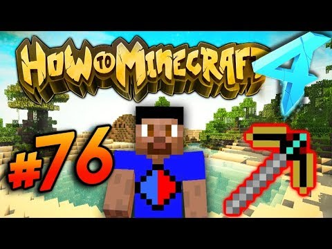 BLAST MINING! - HOW TO MINECRAFT S4 #76