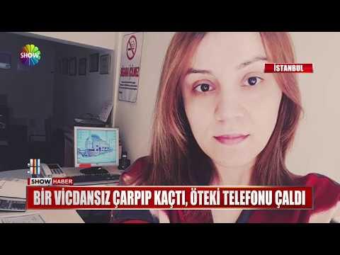 Bir Vicdansız çarptı Kaçtı, öteki Telefonu çaldı