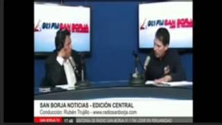 Entrevista a Jorge Juárez en Radio San Borja 25-05-2015 con Rubén Trujillo.