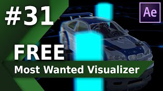 Most Wanted M3 Audio Visualizer