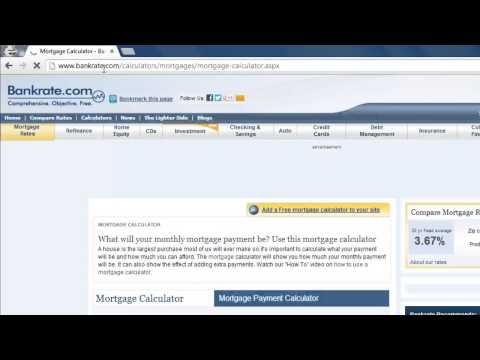 how-to-use-mortgage-calculator-online
