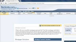 How to Use Mortgage Calculator Online