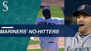 All six of the Mariners' no-hitters in team history