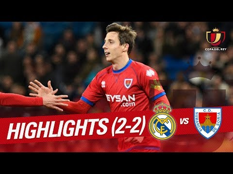 Resumen de Real Madrid vs CD Numancia (2-2)