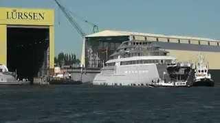 Launch Lürssen Motor Yacht AZZAM - TheYachtPhoto.com