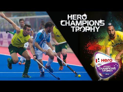 Argentina vs Australia - Men's Hero Hockey Champions Trophy 2014 India QF2 [11/12/2014]