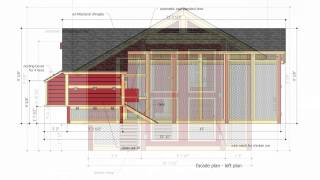 M103 - Chicken Coop Plans Free - Chicken Coop Design - Chicken Coop Plans Construction