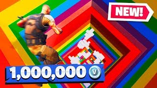 Download If You WIN, You Get 1 Million VBUCKS (Fortnite Rainbow Dropper Challenge) Mp3 and Videos