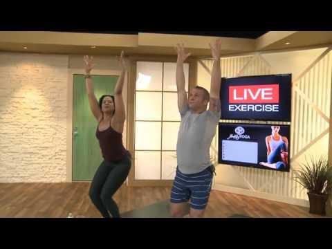 Bodylastics Vinyasa Yoga Class With Corbin Stacy & Christine Lewis