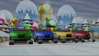 Mario Party 9 Garden Battle - Mario vs Luigi vs Waluigi vs Peach Gameplay | MARIOGAMINGHUB