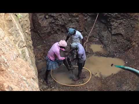 DIGGING WELL IN INDIA