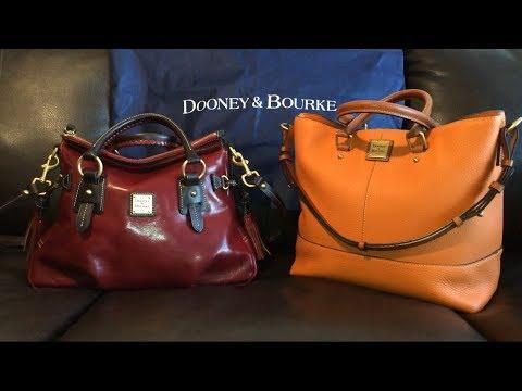 """Dooney & Bourke - """"What's in my Bag?"""" / Bag Switch (Toledo Satchel to Chelsea)"""
