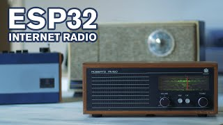From Start to Finish: ESP32 Internet Radio with a Roberts RM20