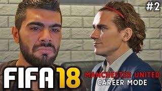 Fifa 18 manchester united career mode | episode #2 - griezmann transfer talks!