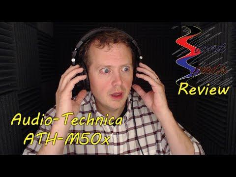 Audio-Technica ATH M50x Headphones - Sound Speeds Review