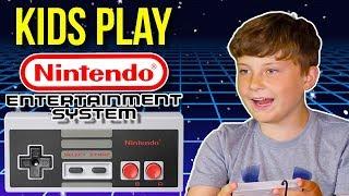 Kids Play NES Classic Bosses   Bonus Blooper Reel