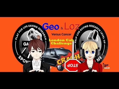 Geo and Loz VS Cancer: London Cab Challenge by Phoenix Games