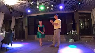 Надежда и Петр. Танец на Серебряную свадьбу!