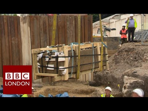 Sarcophagus discovered in south east London - BBC London News