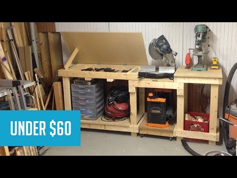 Miter Saw Work Station