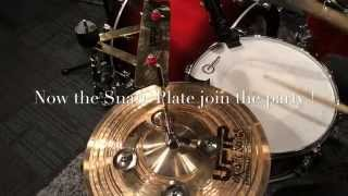 UFIP Cymbals Effects : Snare Plate & Jingo Hat