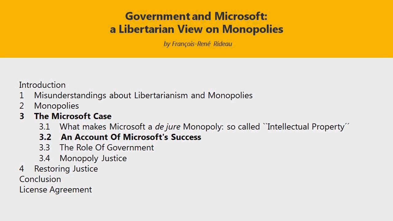 microsoft and antitrust laws