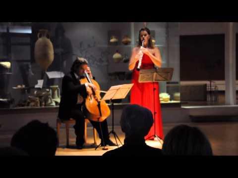 Summertime Sabine Grofmeier, clarinet   Ramon Jaffé, violoncello