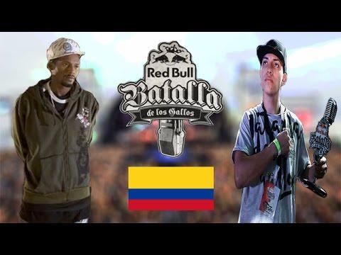 Colombia en la Red Bull Batalla de los Gallos (2005-2008, 2012-2014, 2016)