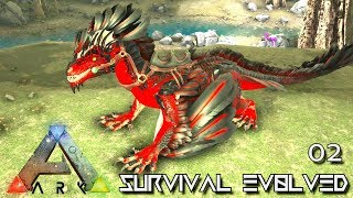 ARK: ABERRATION - NEW DREADFUL ROCK DRAKE !!! E02 (PUGNACIA MOD ARK: SURVIVAL EVOLVED)