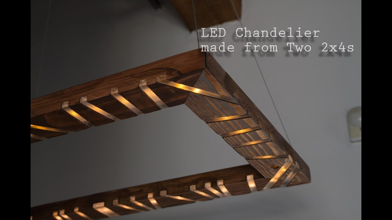 How to make an led chandelier with music visualizer out of 2x4s how to make an led chandelier with music visualizer out of 2x4s two2x4challenge aloadofball Image collections