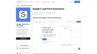 Get started with Google's lead form extensions