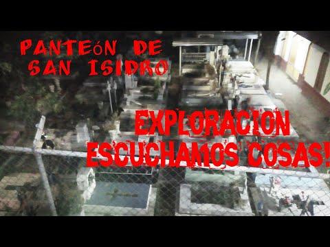 Exploración en el panteón de San Isidro