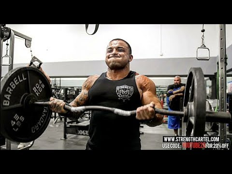 BLOWING UP ARMS WITH THE HEAVY HITTERS | STRENGTH CARTEL - BIG BOY