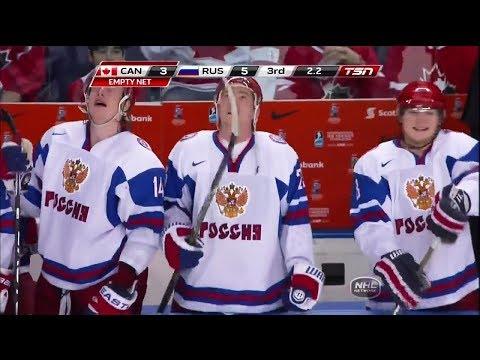 МЧМ по хоккею 2011. Финал. Канада - Россия. 3:5. U20. UWC Hockey 2011. Final. Canada - Russia. 3:5