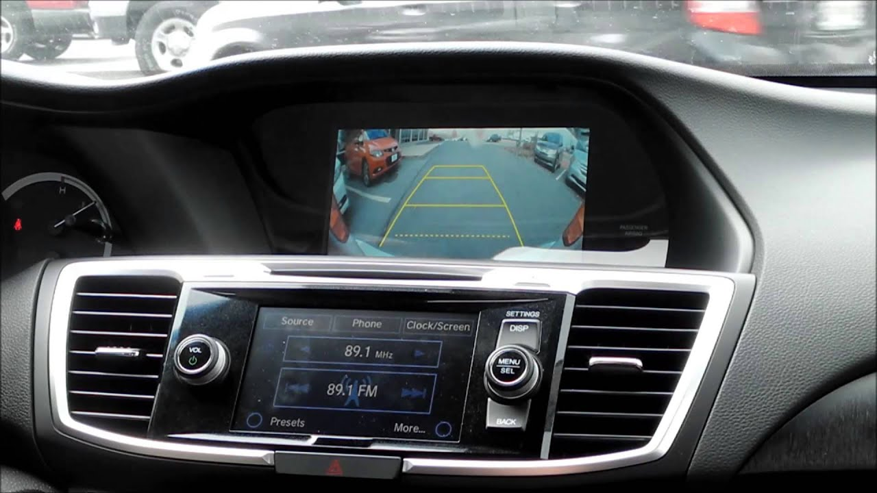 Honda Backup Camera Youtube