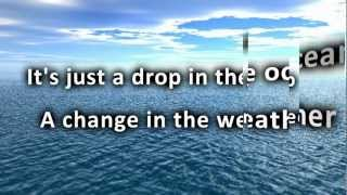 ron pope a drop in the ocean new version with lyrics hd