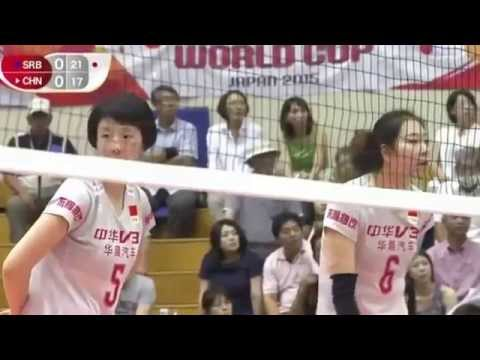 CHINA vs SERBIAFIVB Volleyball Women's World Cup 2015