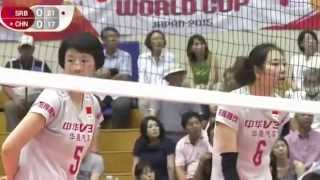 CHINA vs SERBIA   FIVB Volleyball Women's World Cup 2015