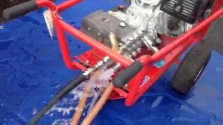 how to fit setup test flow sensitive k unloader valve qwashers youtube