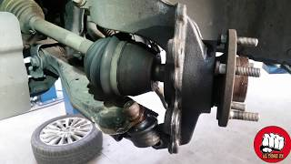 HOW TO REPLACE A FRONT WHEEL BEARING ON A FORD FOCUS 2011- 2017 thumbnail