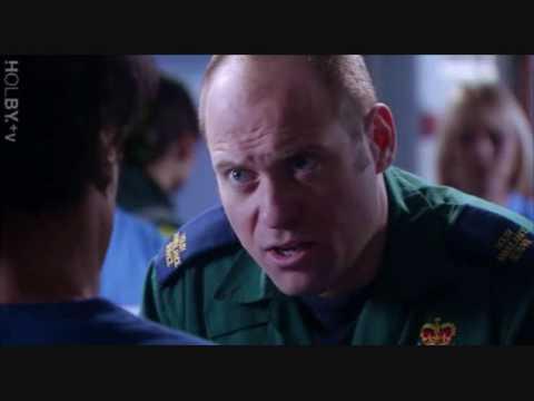 Casualty's Jeff Collier  Matt Bardock.wmv