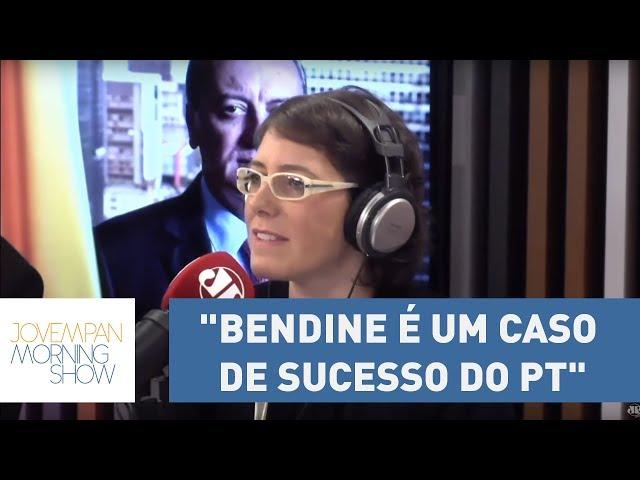 """Helen Braun: """"Bendine é um caso de sucesso do PT""""   Morning Show"""