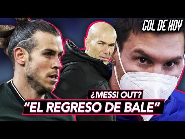 ¿BALE al MADRID?  ¿MESSI sin FINAL? BARCA sin PRESIDENTE   #goldehoy