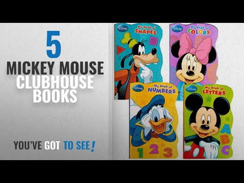 Top 10 Mickey Mouse Clubhouse Books [2018]: Disney® Mickey Mouse