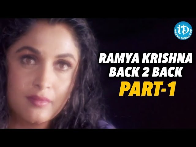 Ramya Krishna Back To Back Videos - Part 1 || Ramya Krishna Show Time
