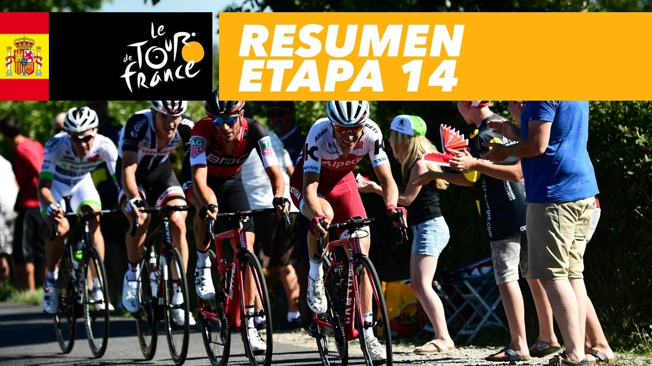Resumen Etapa 14 Tour De France 2017 Youtube