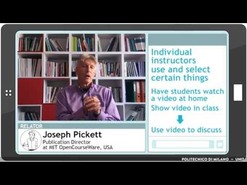 How educators are already sharing and trying OERs? (Joseph Pickett)