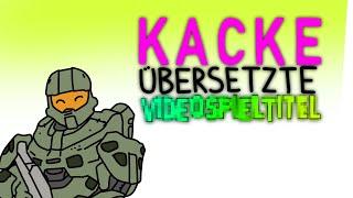 coldmirror mit Kacke übersetzte Videospieltitel